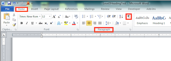 microsoft word how to get toolbars back